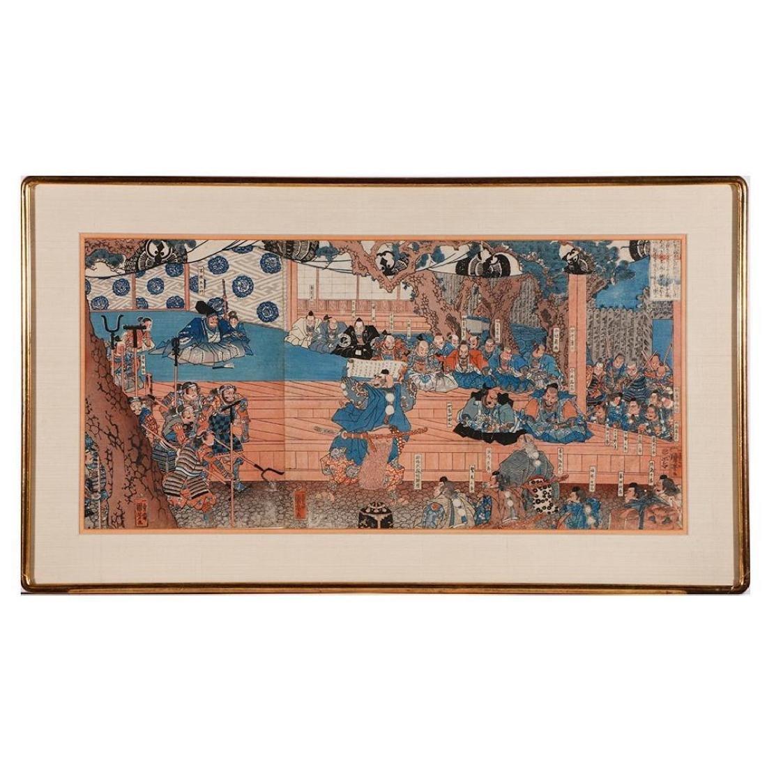 Kuniyoshi UTAGAWA (1797/98-1861)