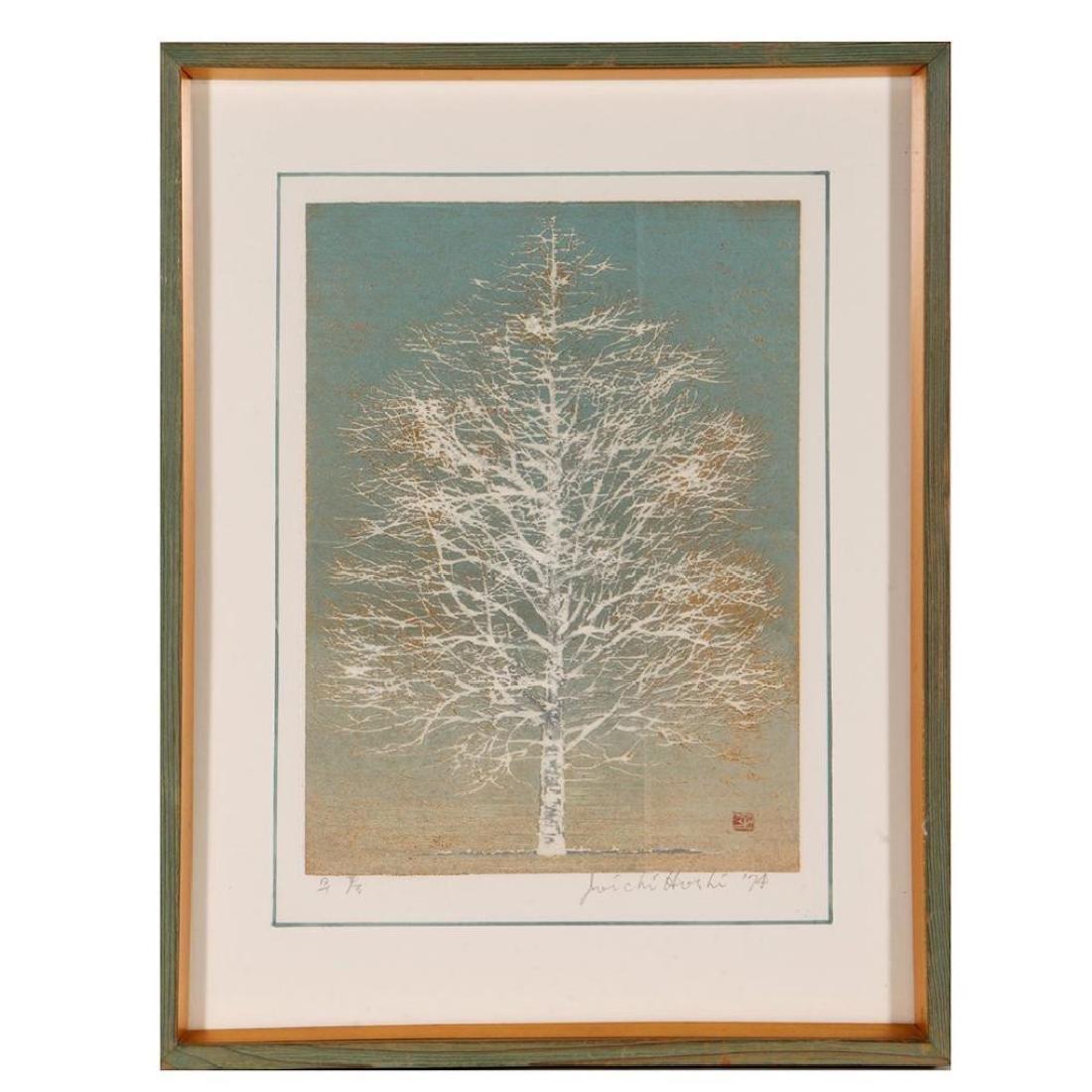 Japanese woodblock, JOICHI HOSHI