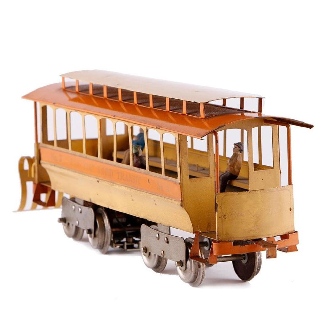 Lionel Standard Gauge #3 Trolley Reproduction - 3