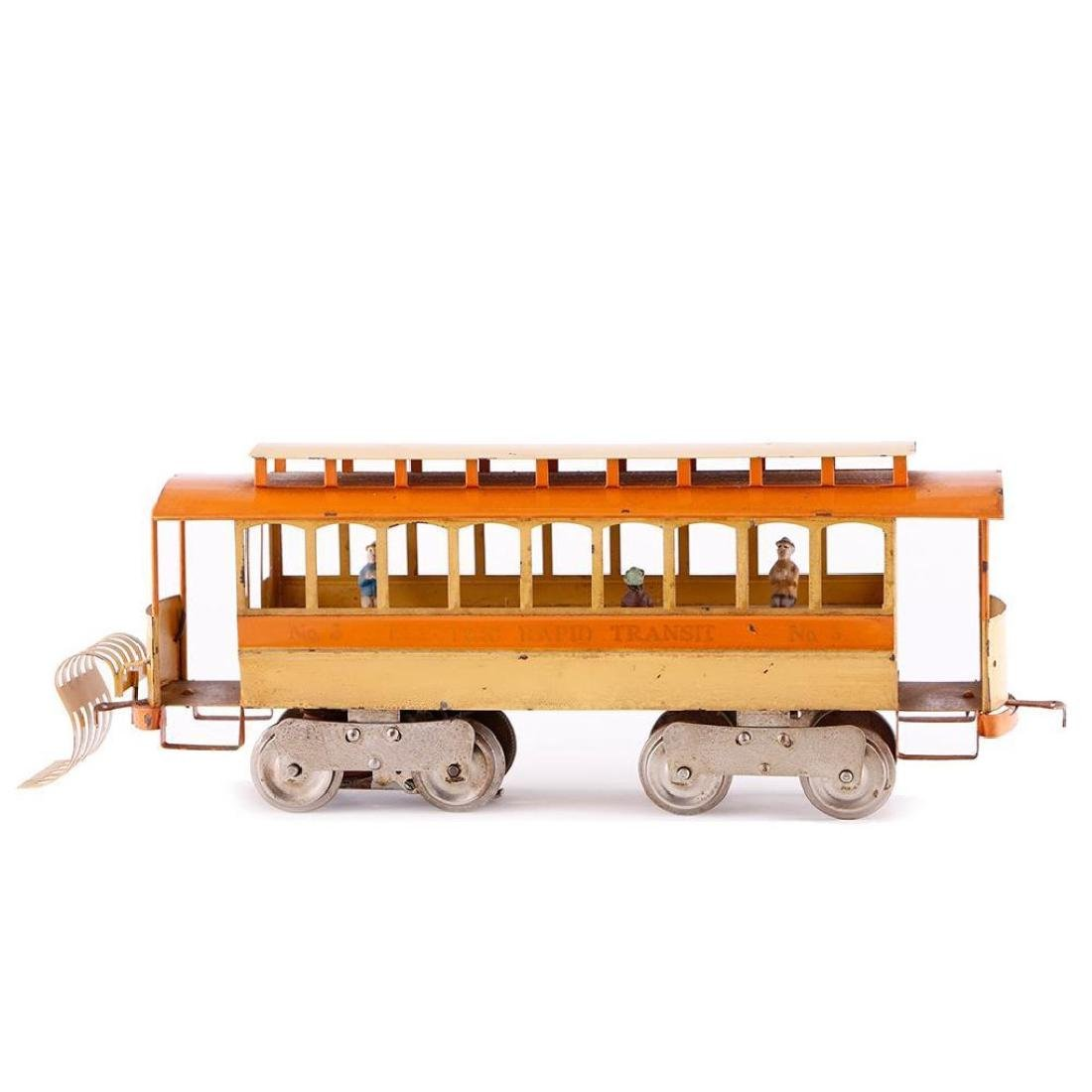 Lionel Standard Gauge #3 Trolley Reproduction - 6