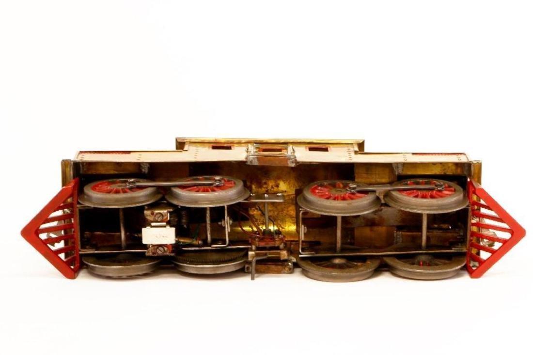 Lionel Standard Gauge #54 Thin Rim Nickel Loco, Cohen - 3