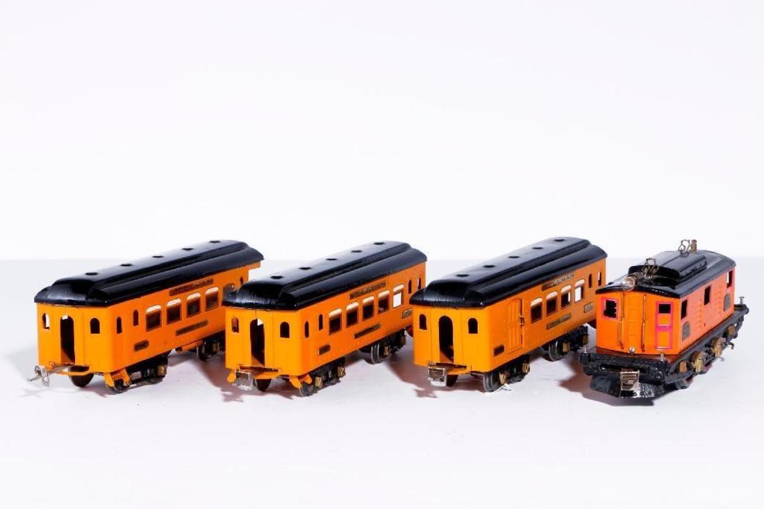 Ives Standard Gauge 3235 Locomotive, Passenger Set - 2