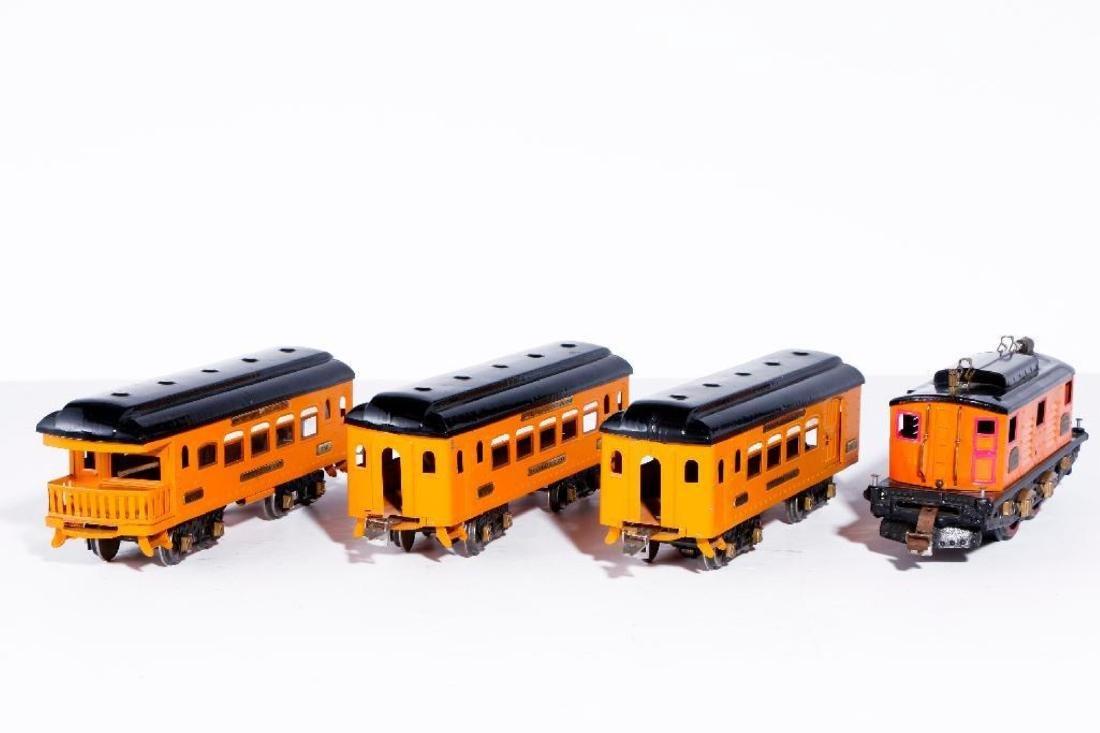 Ives Standard Gauge 3235 Locomotive, Passenger Set - 3