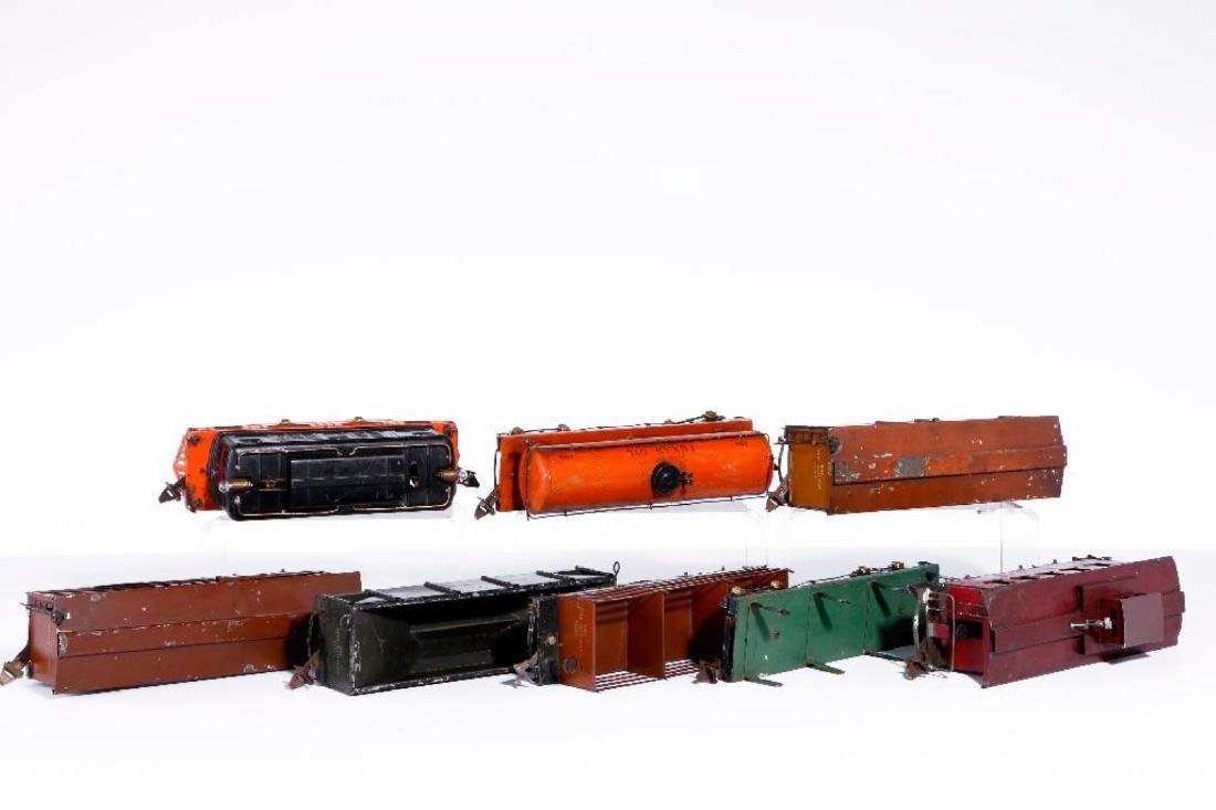 Ives Standard Gauge 3236 Locomotive with 7 Freights - 3