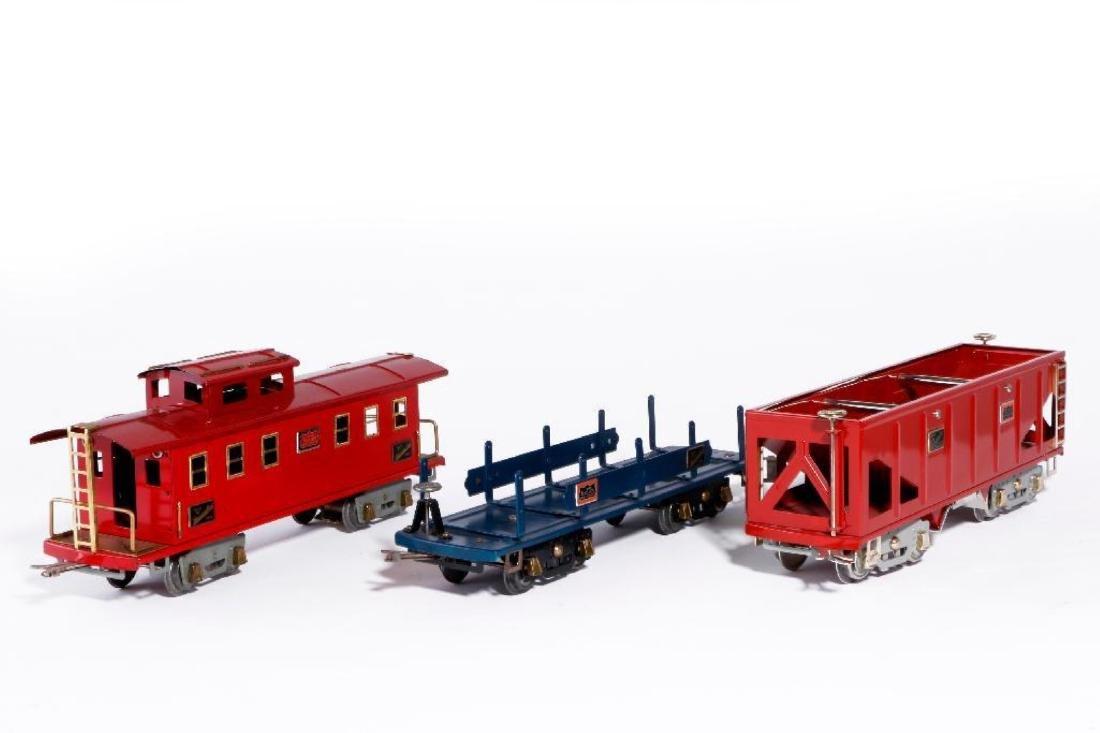 American Flyer Std. Gauge #4637 Locomotive & 4 Freights - 4