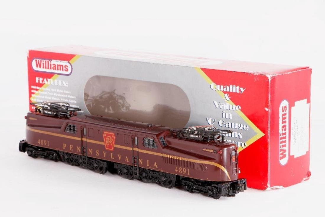 Williams O Gauge Scale Length PRR GG1 Locomotive