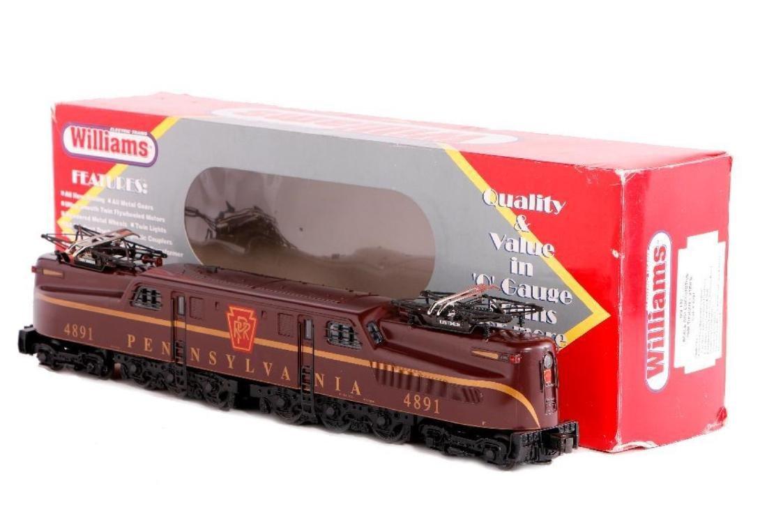 Williams O Gauge Scale Length PRR GG1 Locomotive - 2