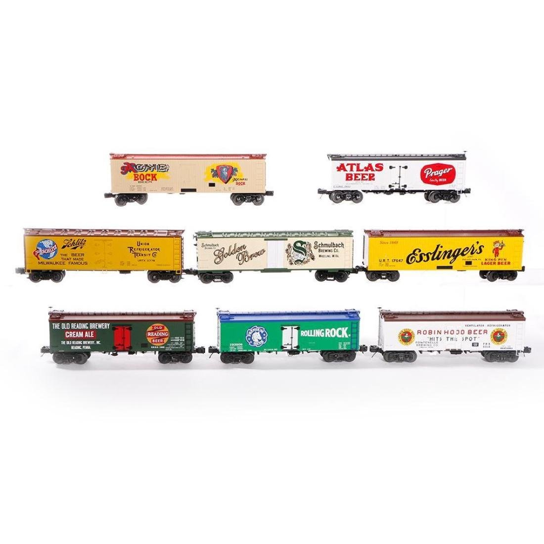 Lot of 8 MTH O Gauge Woodside Reefers