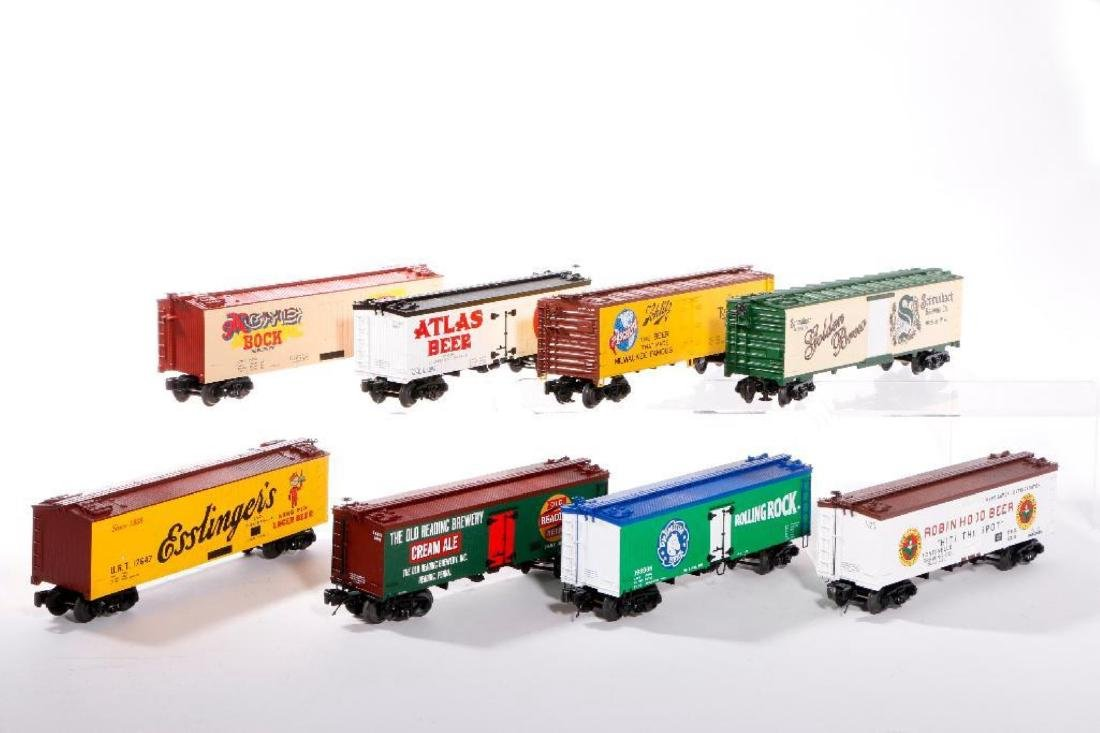 Lot of 8 MTH O Gauge Woodside Reefers - 2