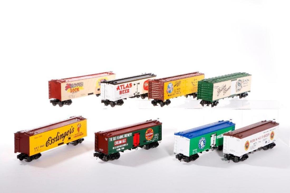 Lot of 8 MTH O Gauge Woodside Reefers - 3