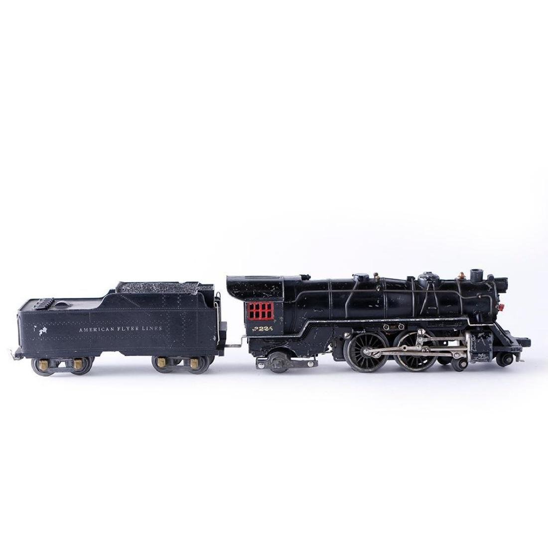 Prewar American Flyer O Gauge 4-4-2 Steam Locomotive