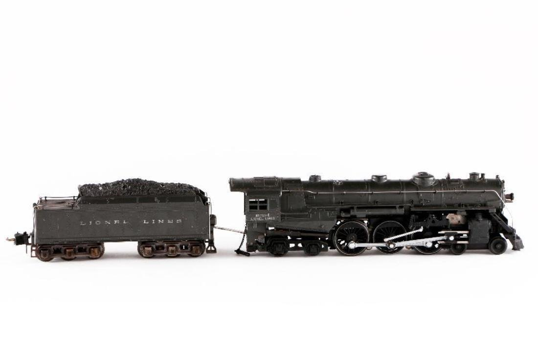 Lionel 763E/2226WX Gray Steam Locomotive, O Gauge - 2