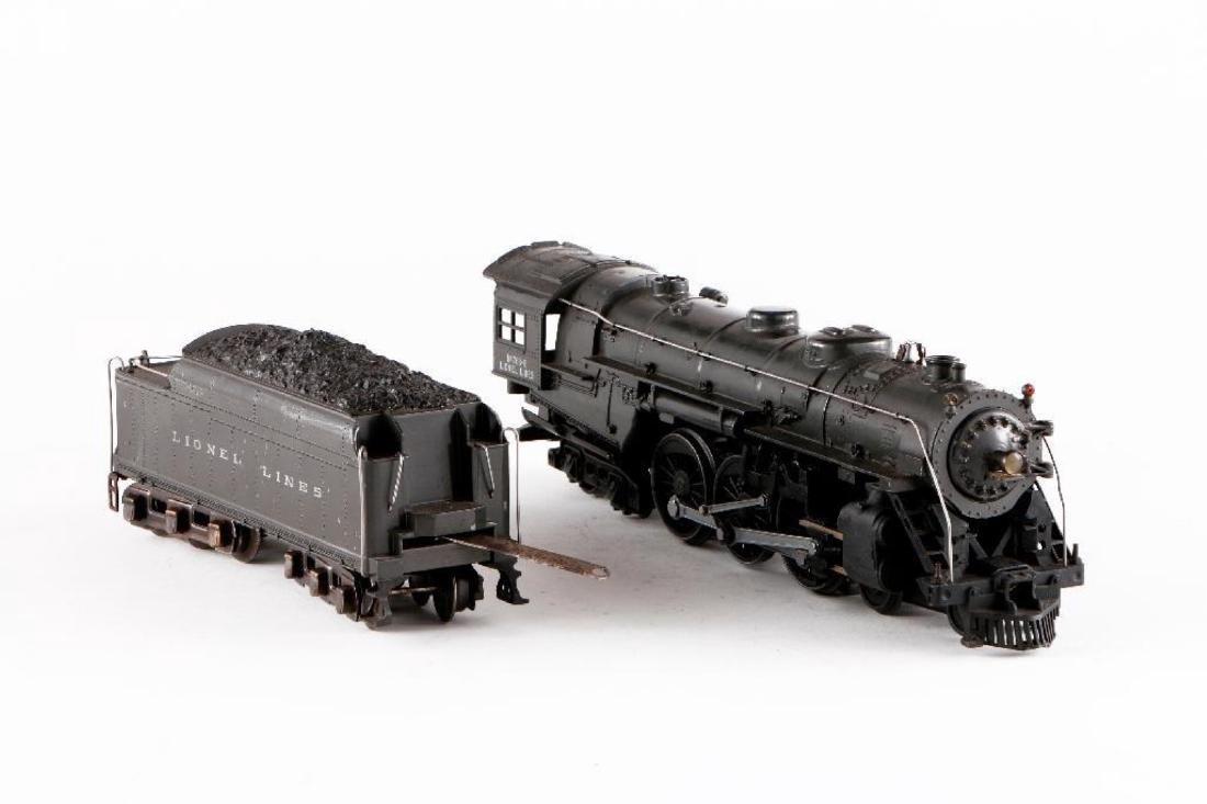 Lionel 763E/2226WX Gray Steam Locomotive, O Gauge - 3