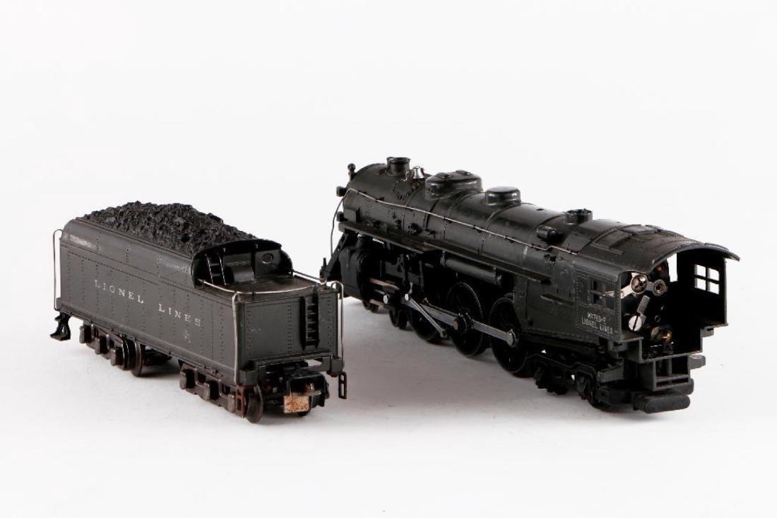 Lionel 763E/2226WX Gray Steam Locomotive, O Gauge - 4