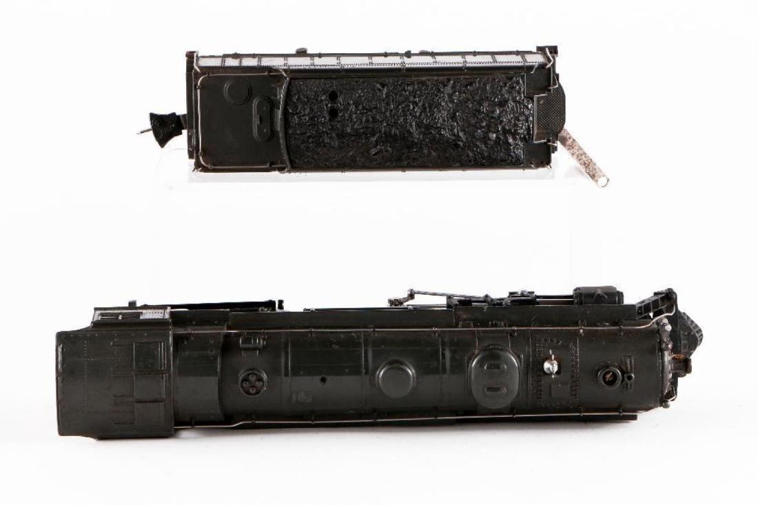 Lionel 763E/2226WX Gray Steam Locomotive, O Gauge - 6
