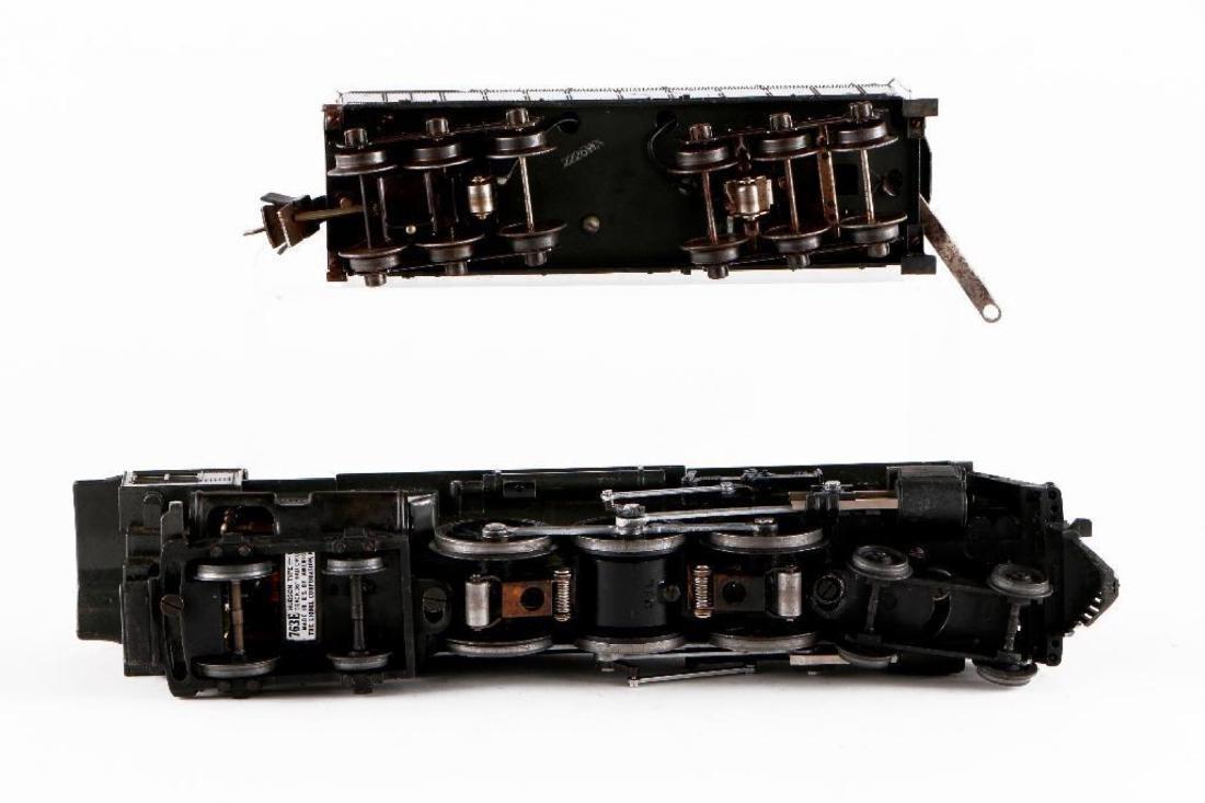 Lionel 763E/2226WX Gray Steam Locomotive, O Gauge - 7