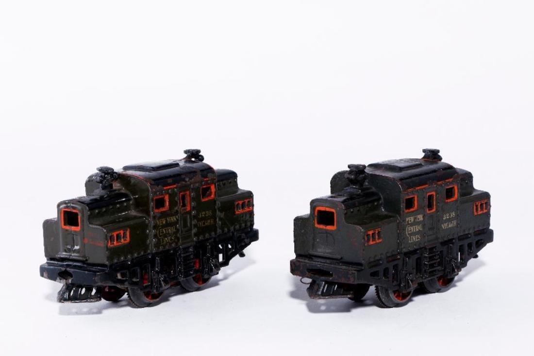 Two Bing 0 Gauge Cast Iron Electric NYC Type Locomotive - 2