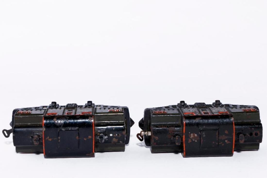 Two Bing 0 Gauge Cast Iron Electric NYC Type Locomotive - 3