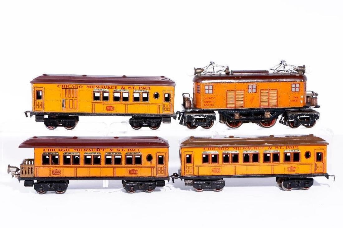 Bing O Gauge U.S. Market Milwaukee Passenger Set