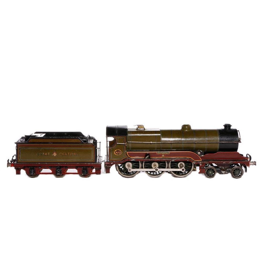 Bing #1 Gauge English Style 4-6-0 Steam Locomotive