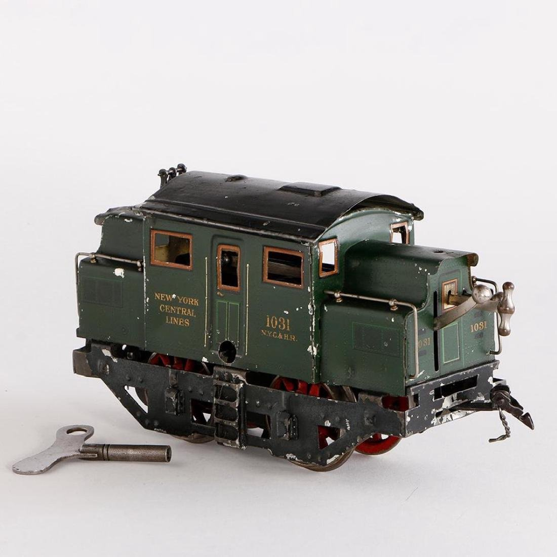 Marklin #1 Gauge U.S. Market Clockwork NYC Locomotive - 2