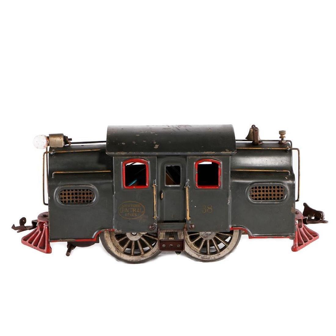 Lionel Standard Gauge 38 Locomotive, Gray