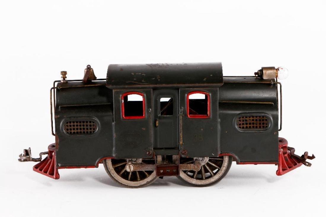 Lionel Standard Gauge 38 Locomotive, Gray - 3