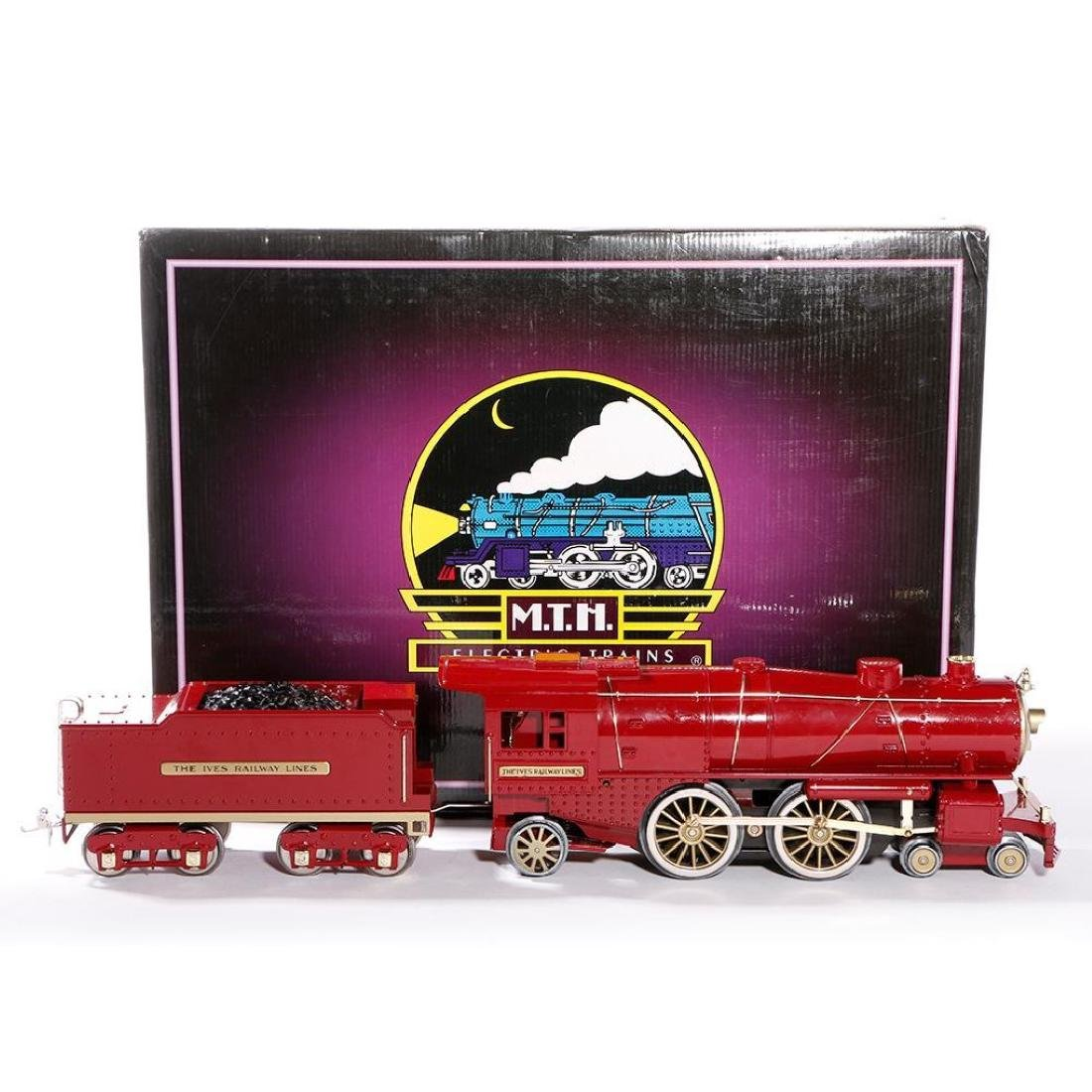MTH Standard Gauge Repro Red 1134 Ives Steam Loco