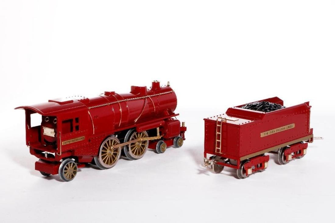 MTH Standard Gauge Repro Red 1134 Ives Steam Loco - 5