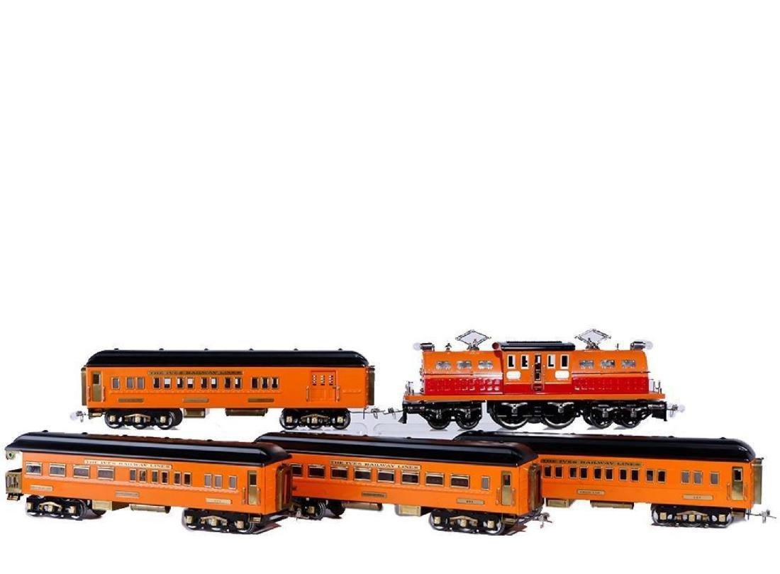 Ives Standard Gauge Repro Transition Passenger Set