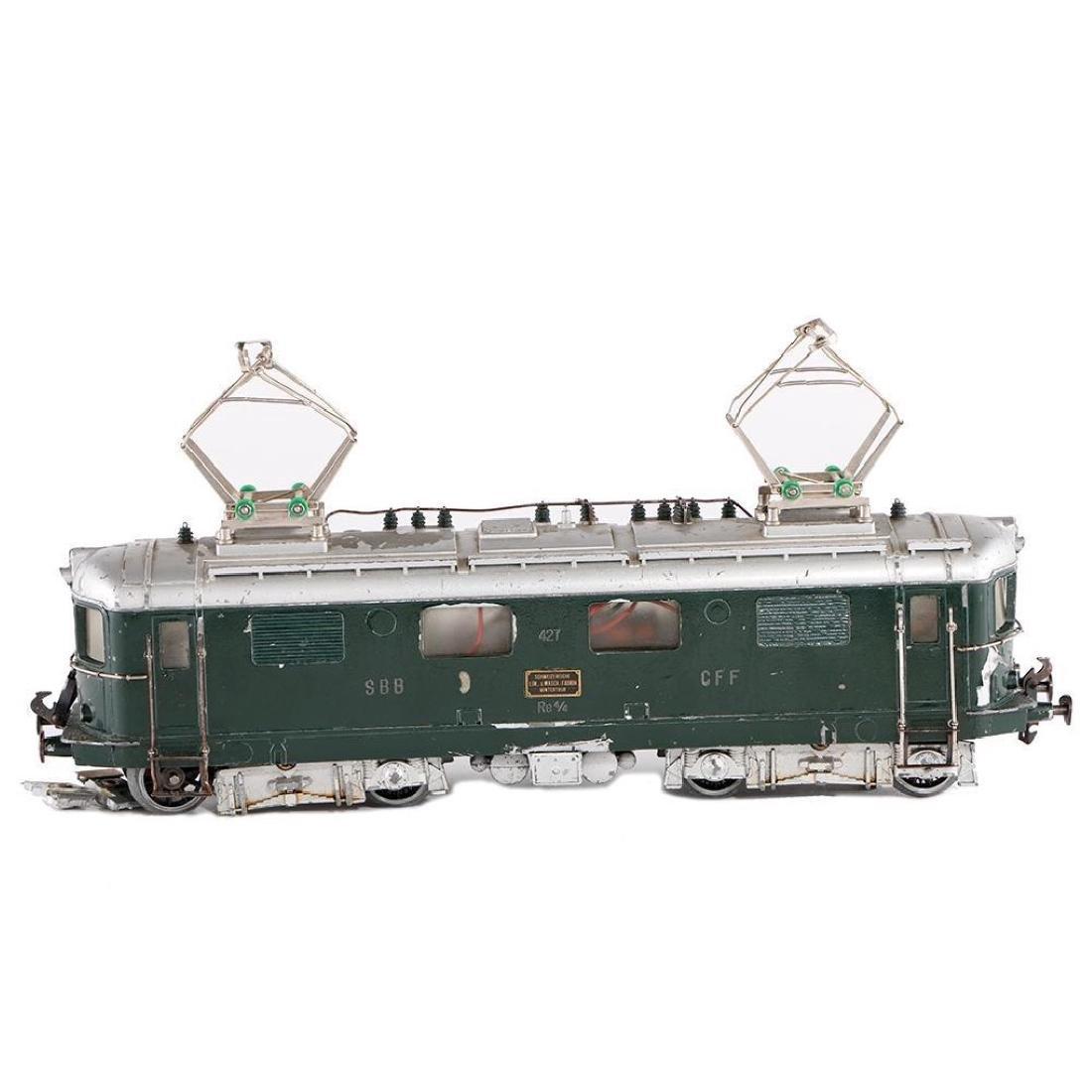 Buco Swiss 0 Gauge Diecast Locomotive