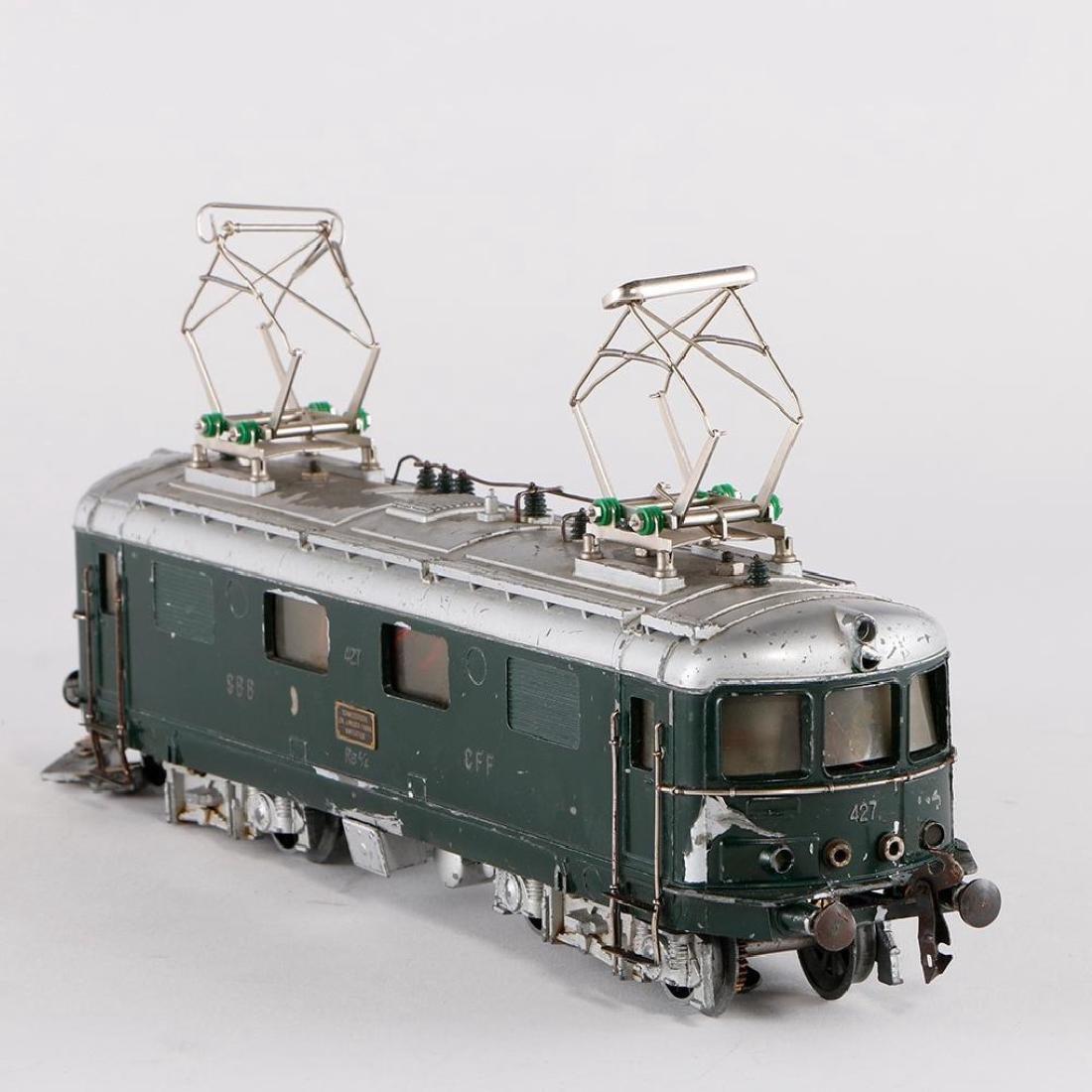 Buco Swiss 0 Gauge Diecast Locomotive - 2