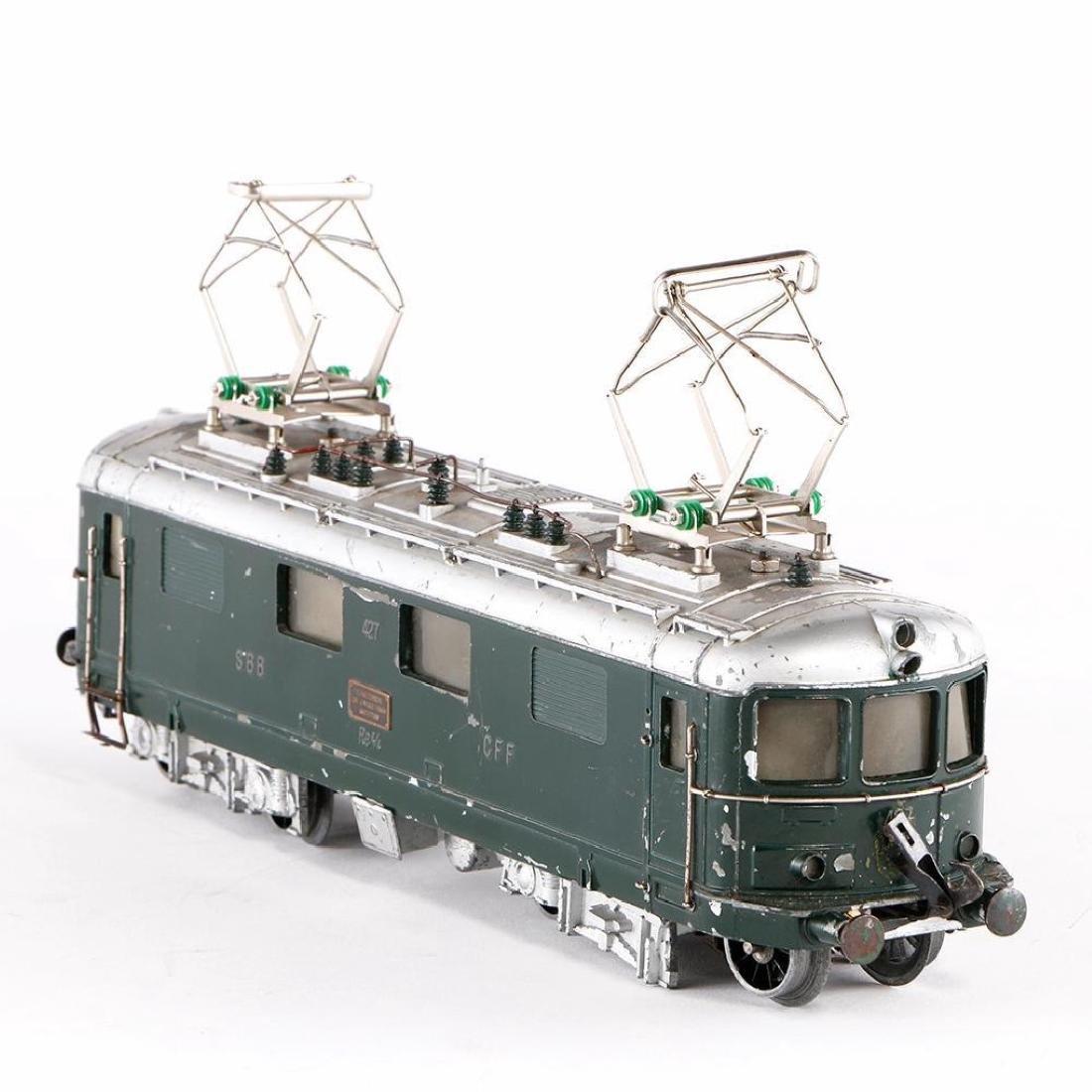 Buco Swiss 0 Gauge Diecast Locomotive - 4