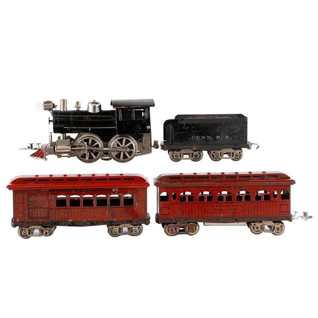 "Scarce Elektoy 2"" Gauge Steam Loco and Passenger Set"