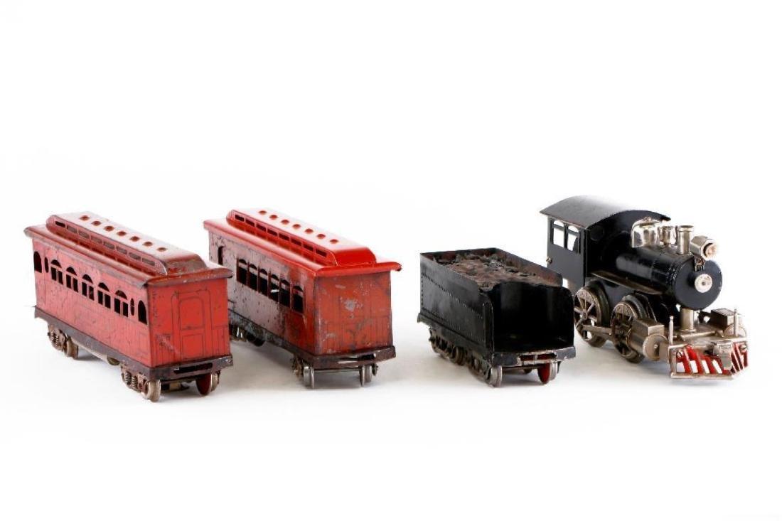 "Scarce Elektoy 2"" Gauge Steam Loco and Passenger Set - 4"