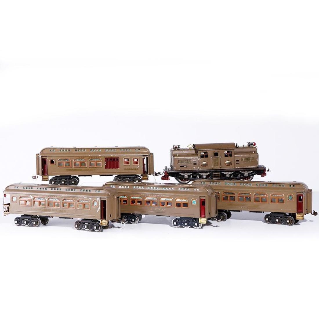 Lionel 402 Standard Gauge PassengerSet with Repro Diner