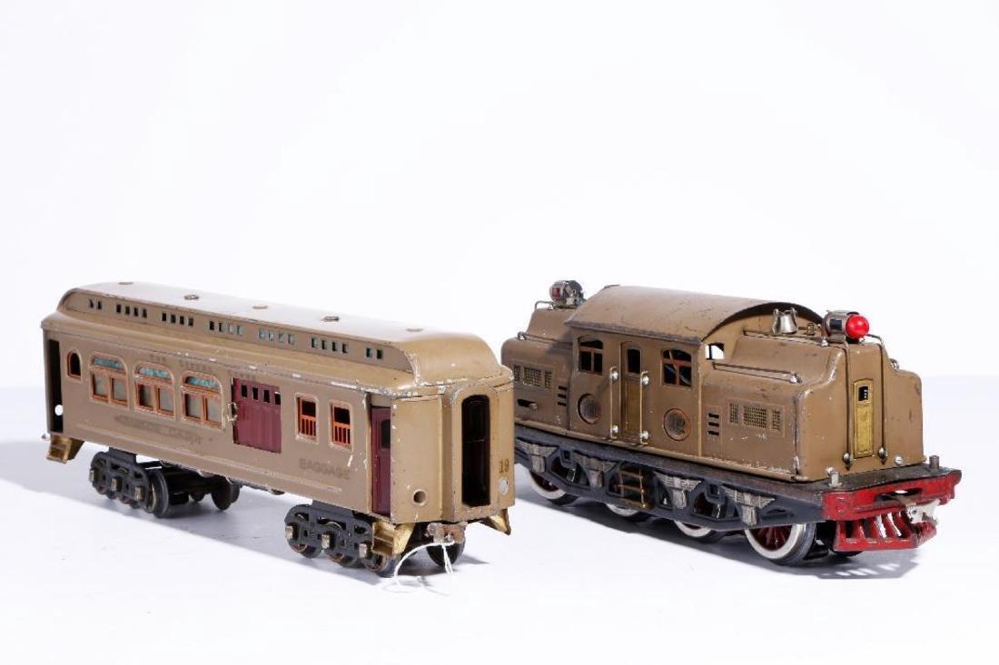 Lionel 402 Standard Gauge PassengerSet with Repro Diner - 2