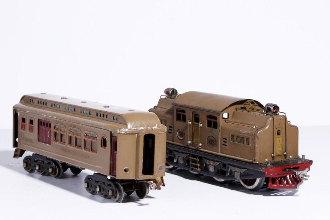 Lionel 402 Standard Gauge PassengerSet with Repro Diner - 3