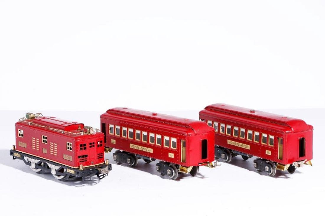 Lionel Standard Gauge Boxed #347E Outfit, Red/Cream - 2
