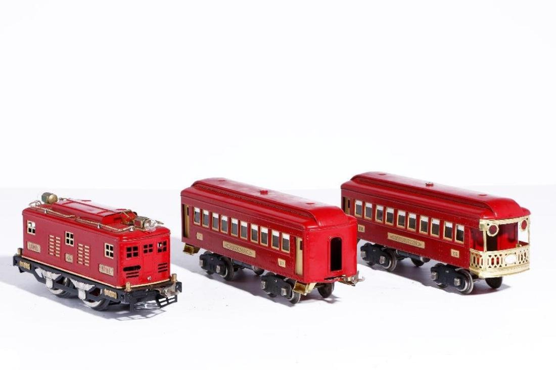 Lionel Standard Gauge Boxed #347E Outfit, Red/Cream - 3