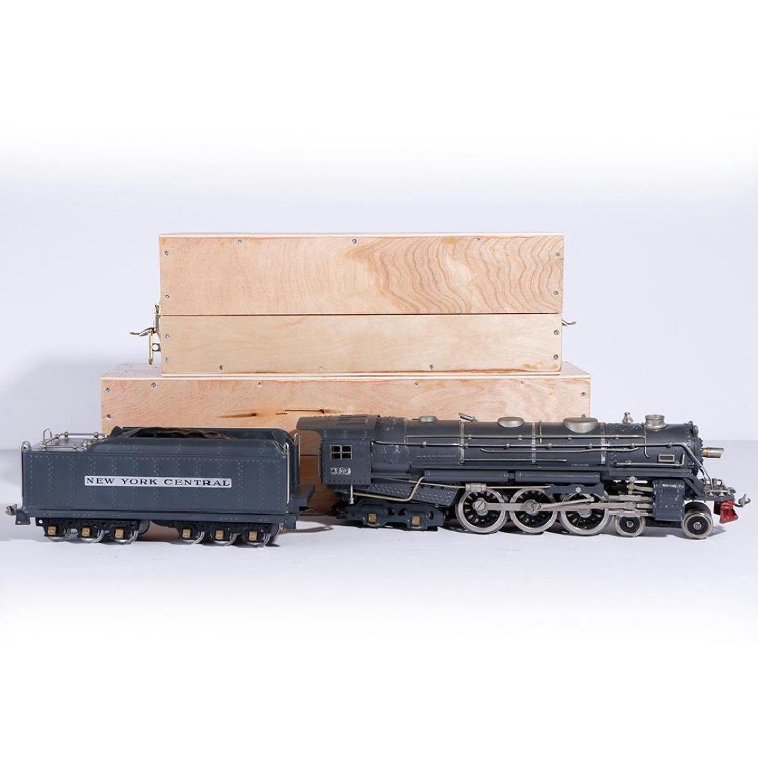Creswell Standard Gauge 600E Hudson Steam Locomotive