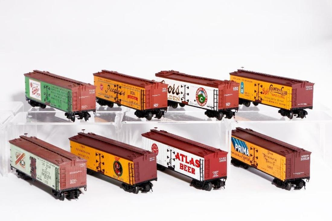 Lot of 8 Atlas O Gauge Woodside Reefers - 2