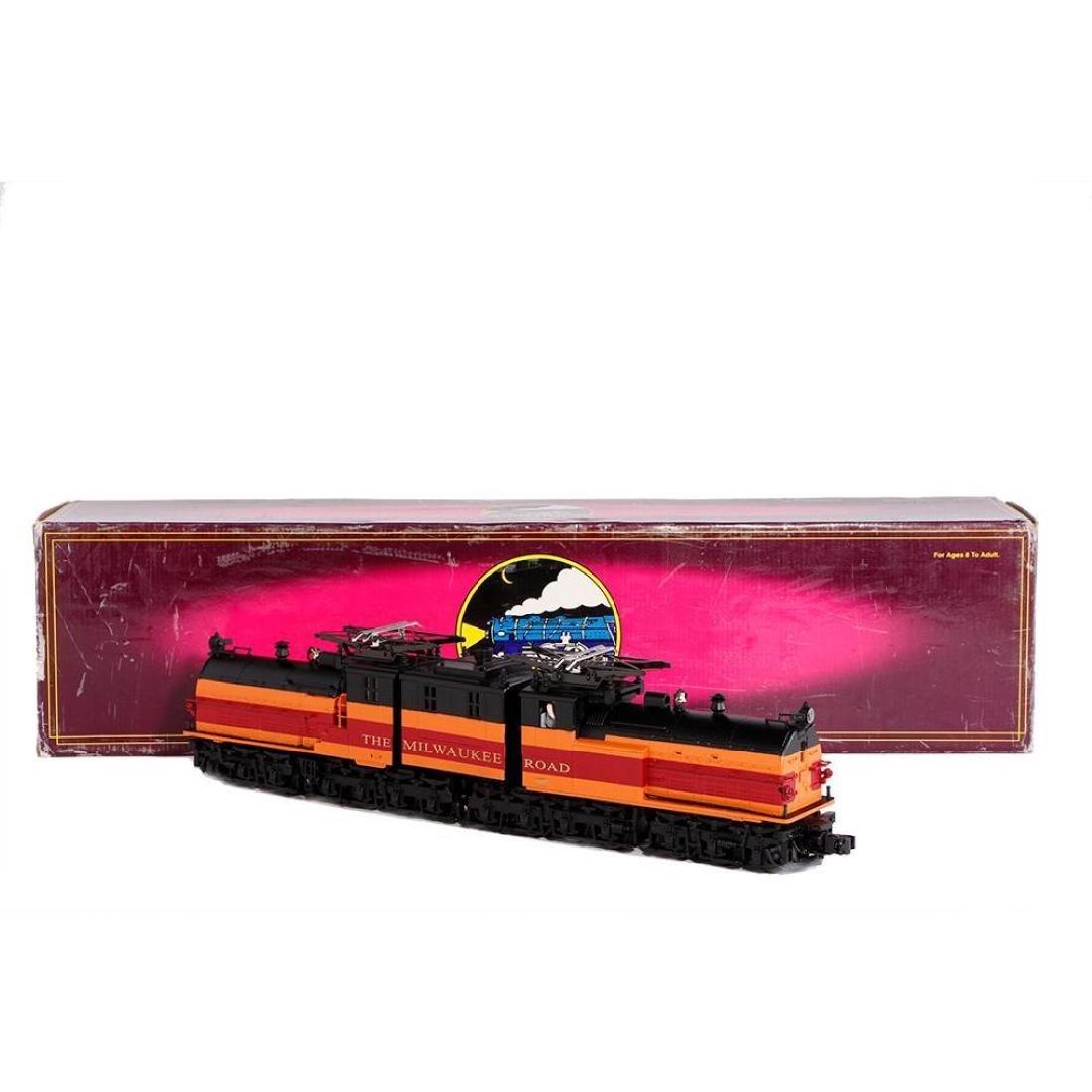 MTH O Gauge Milwaukee Bi-Polar Locomotive
