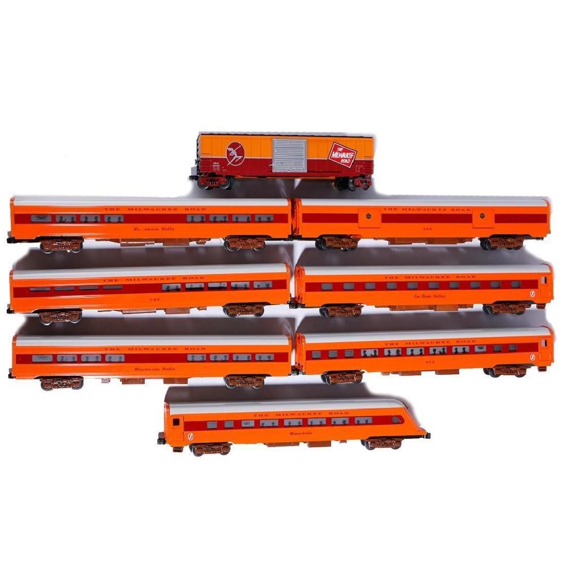 Phoenix Railways Hiawatha 8-Car O Gauge Passenger Set