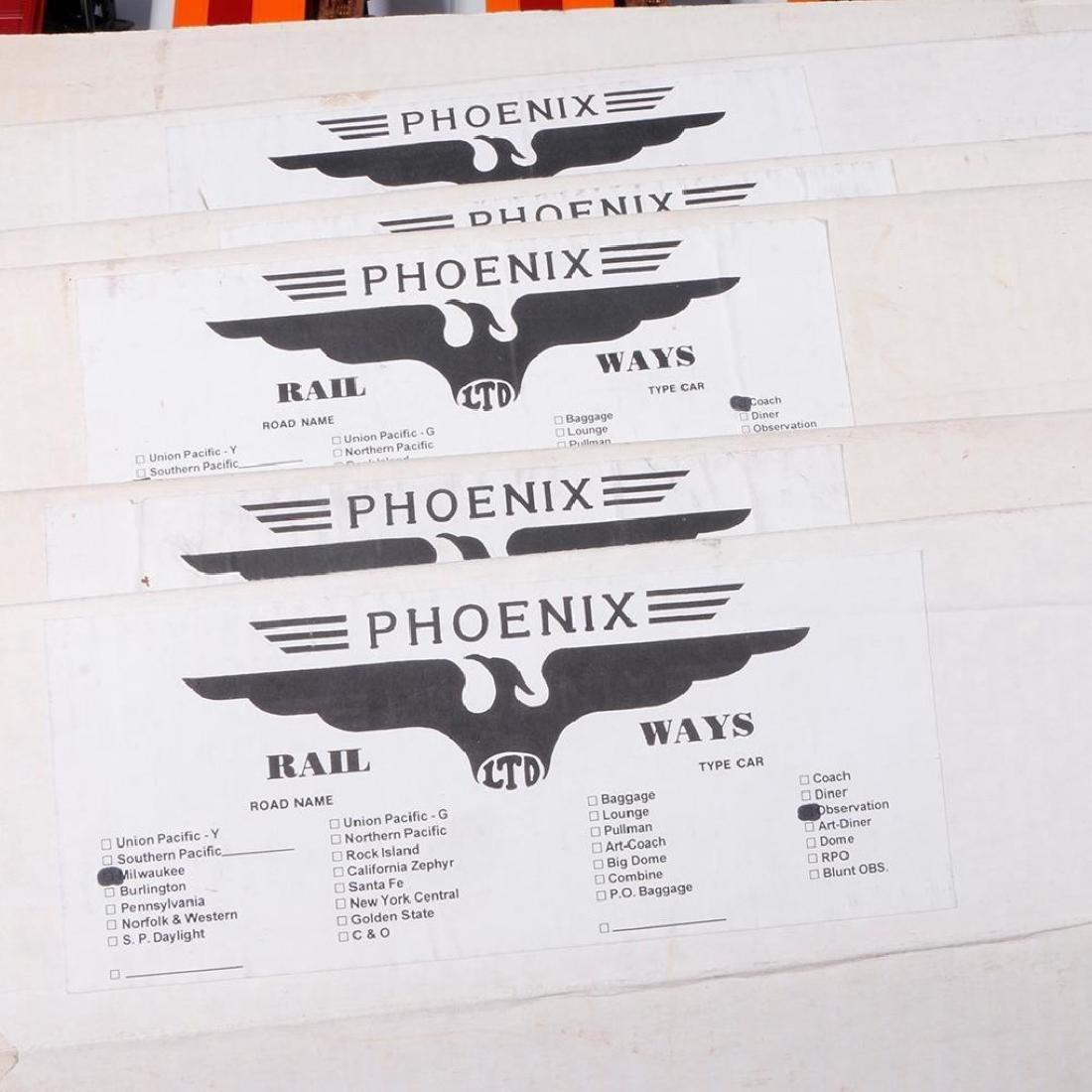 Phoenix Railways Hiawatha 8-Car O Gauge Passenger Set - 2