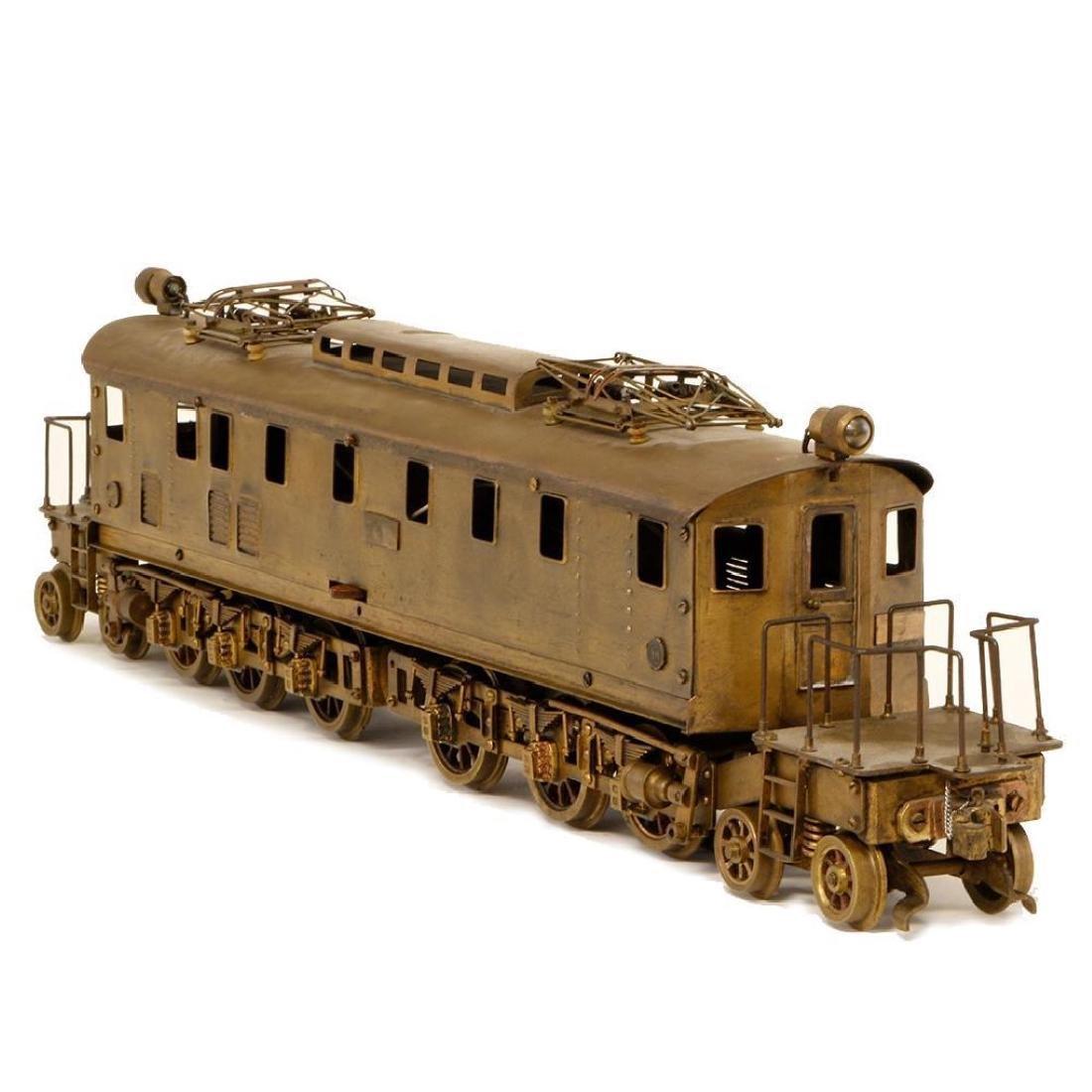 Prewar Brass 50mm Gauge Japanese Locomotive