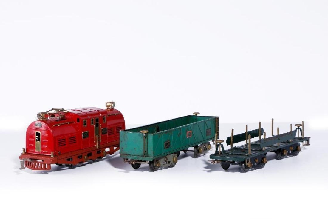American Flyer Standard Gauge 4635 Locomotive, 2 Freigh - 2