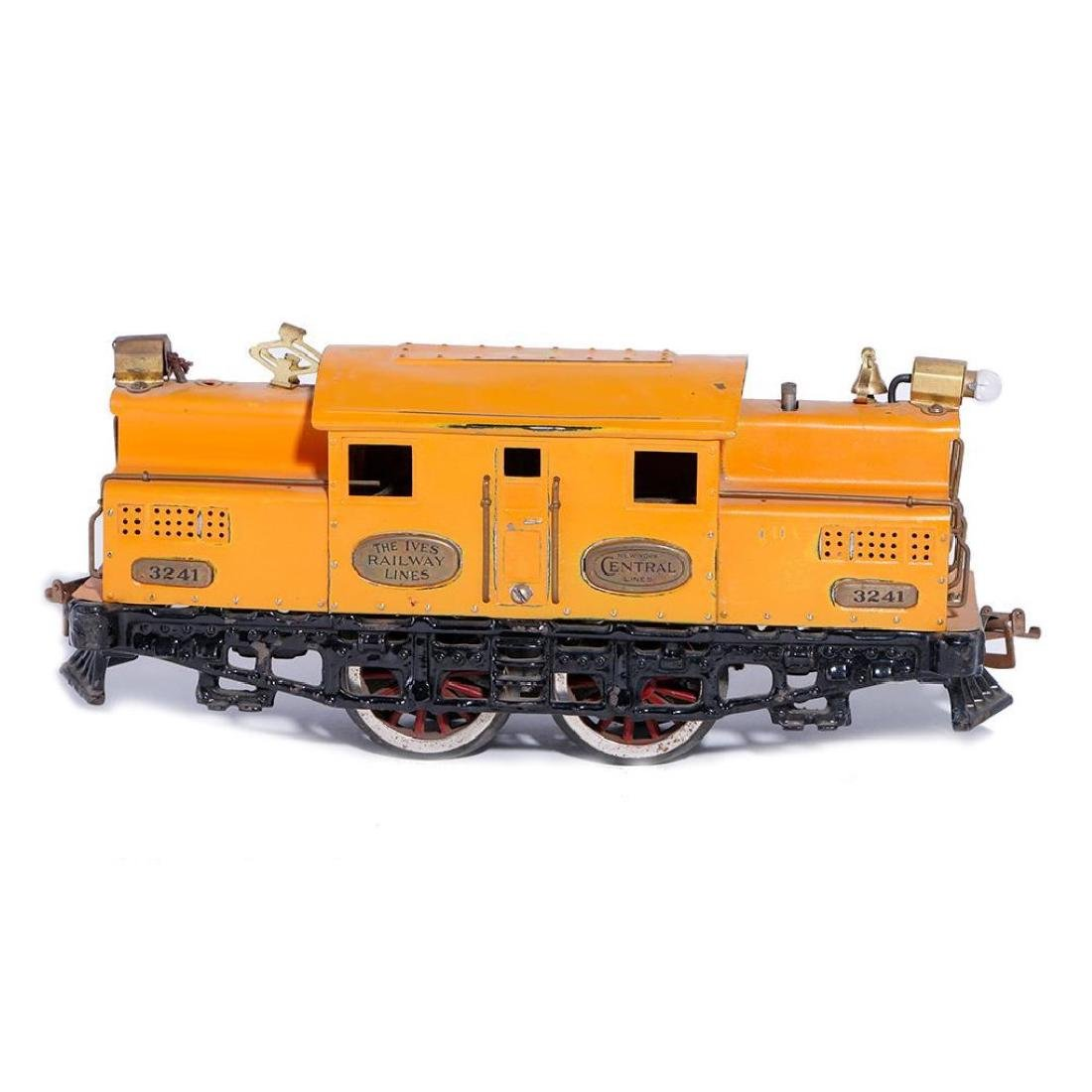 Ives Standard Gauge electric locomotive