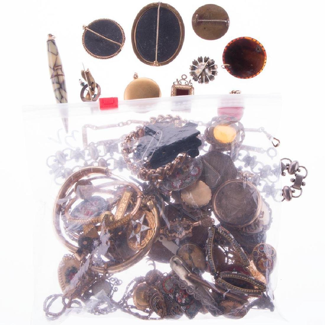 Collection of antique and vintage jewelry - 3