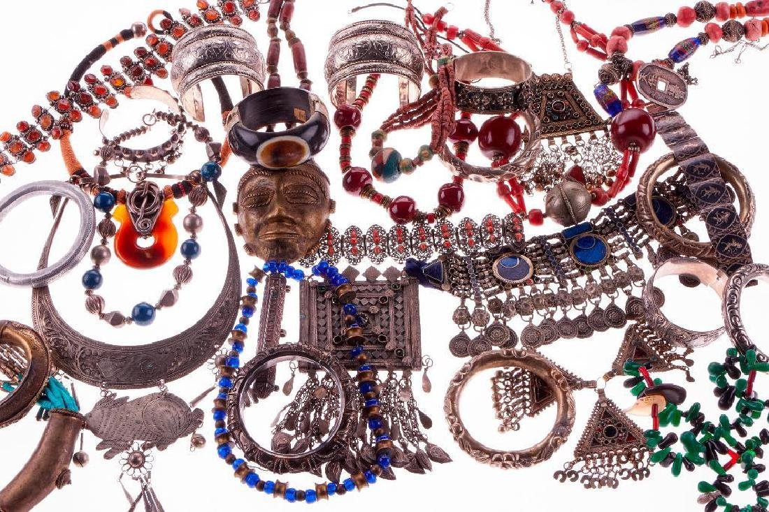 Collection of Asian, Near Eastern and Indian jewelry